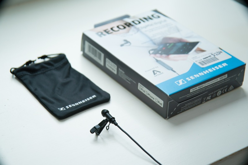Sennheiser ClipMic Digital microphone