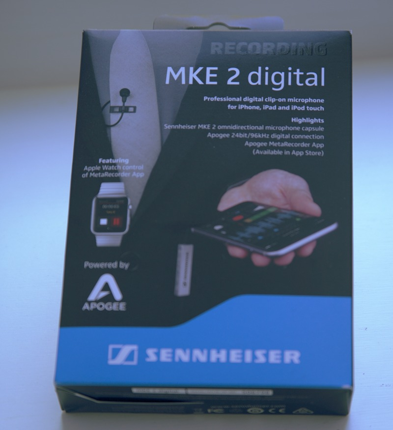 Sennheiser MKE 2 Digital Review   AirLinc App